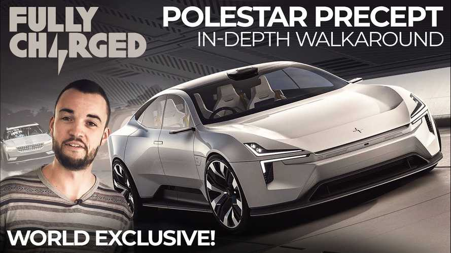 UK: Watch this detailed Polestar Precept walkaround by Fully Charged