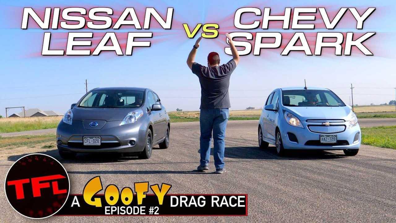 chevy spark ev versus nissan leaf