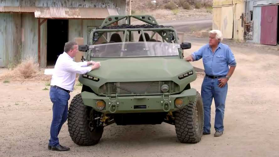 GM Defense Infantry Squad Vehicle Visits Jay Leno's Garage