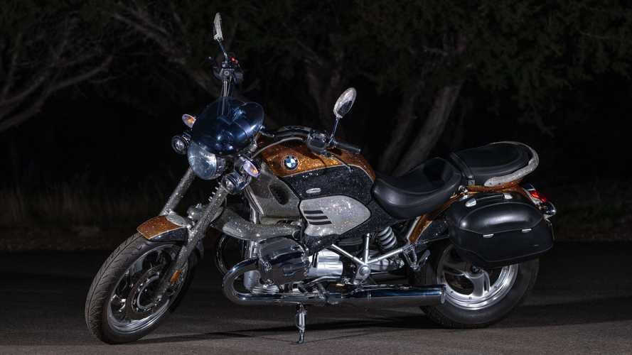 This Glittering Orange 2002 BMW R1200C Is Looking For A New Home