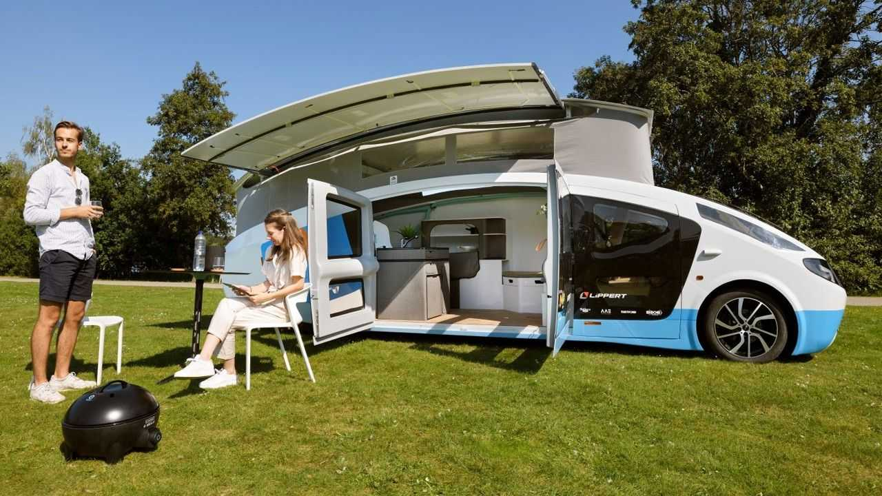 Stella Vita Solar-Wohnmobil.