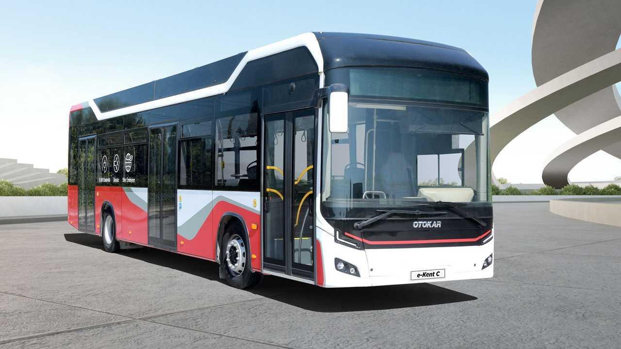 Otokar e-Kent C: Elektro-Stadtbus mit 300 Kilometer Reichweite