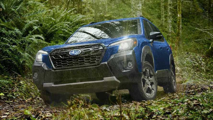 Самый внедорожный Subaru Forester рассекретили досрочно