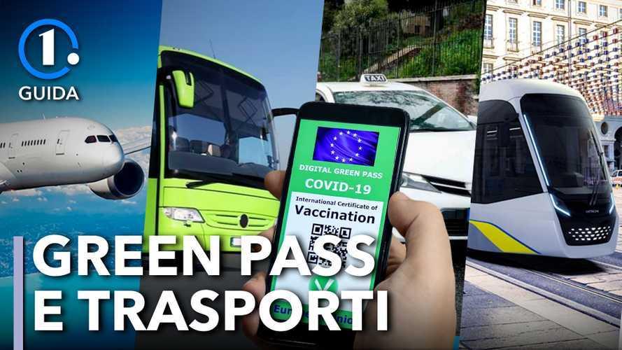 Come funziona il Green Pass obbligatorio per i trasporti