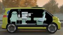 Volkswagen zeigt den ID.Buzz als autonomen Krankenwagen