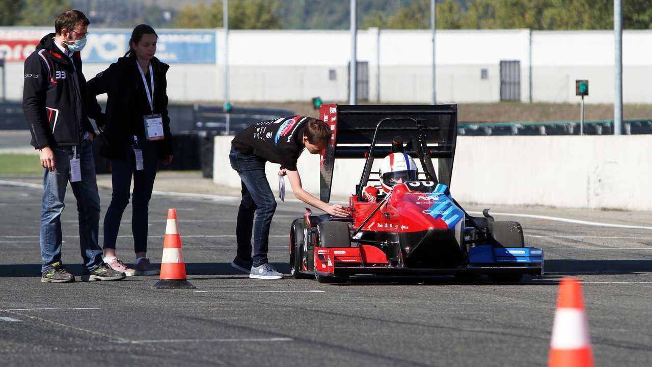 Formula SAE Italy 2021 in pista