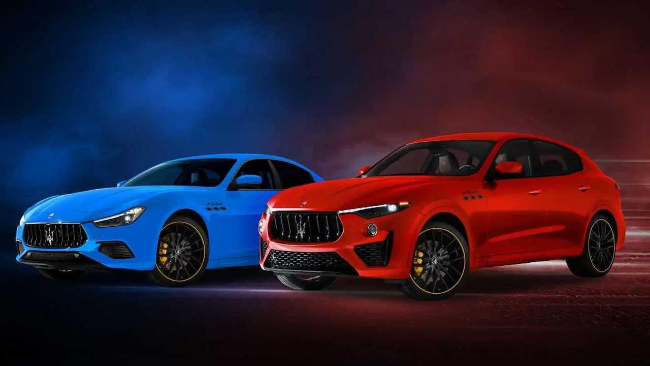Maserati Ghibli dan Levante F Tributo Special Edition