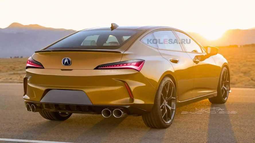 Bakmadan geçmeyin: Resmi olmayan yeni Acura Integra render'ları
