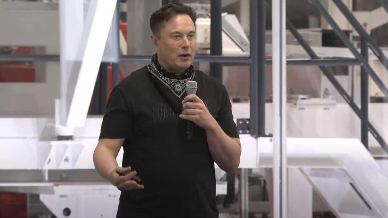 La presentazione di Elon Musk all'assemblea degli azionisti Tesla 2021