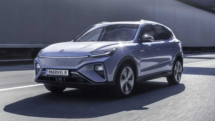 MG Marvel R Electric in European specification