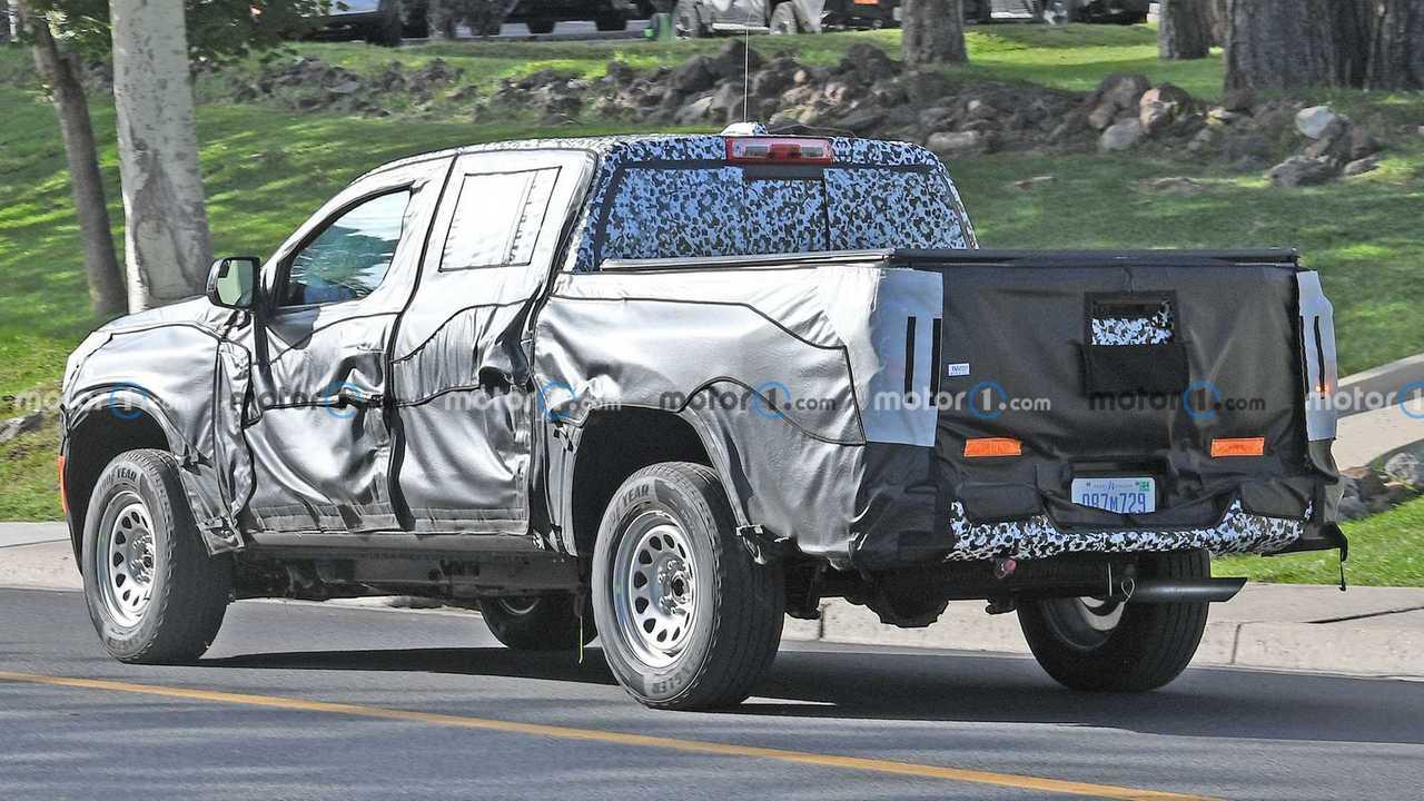 Yeni Nesil Chevrolet Colorado Casus Fotoğrafı.