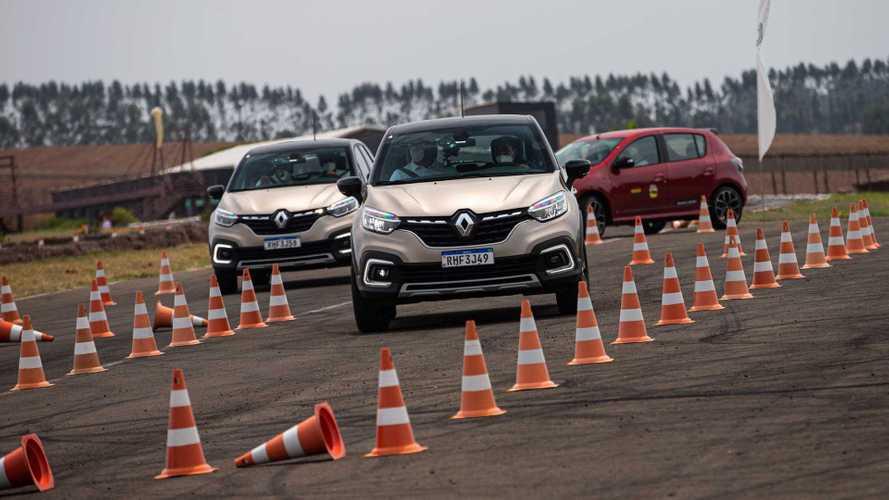 Renault mostra na prática a importância da direção defensiva