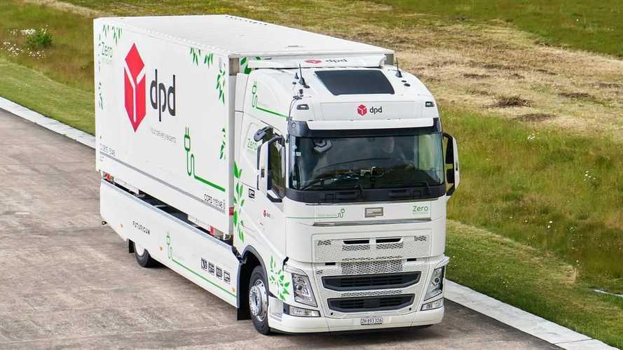 EV lorry sets range record driving 682.88 miles