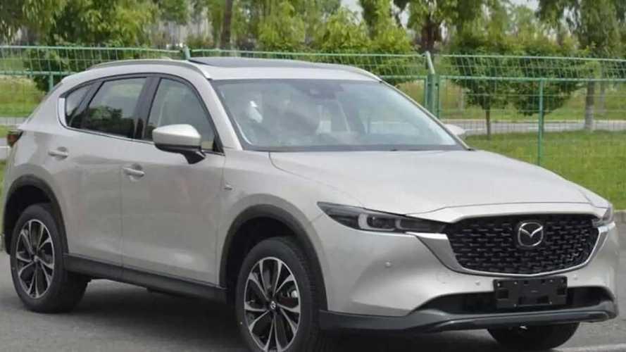 Дизайн обновленной Mazda CX-5 раскрыли досрочно