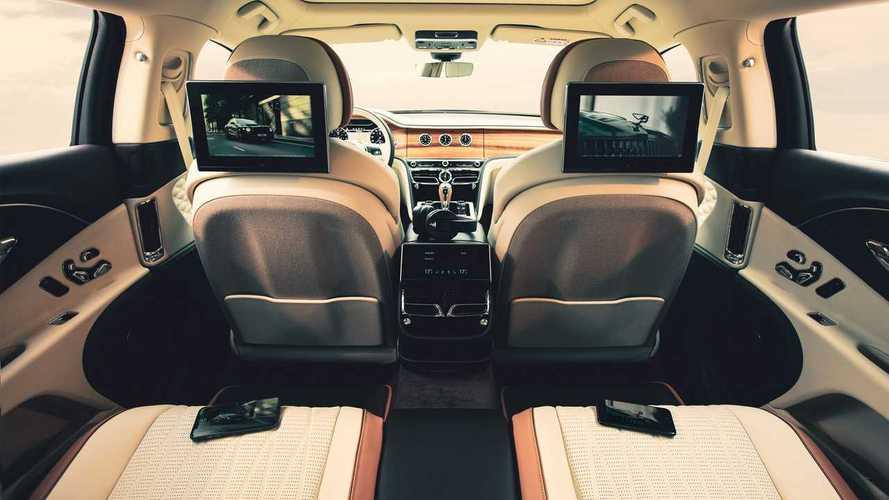 Nouveaux écrans Bentley