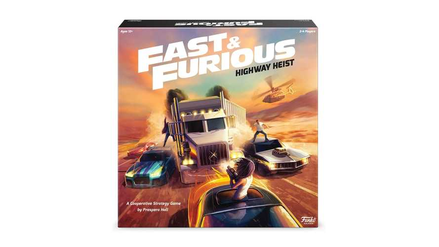 Fast & Furious: Highway Heist is real and ready for game night