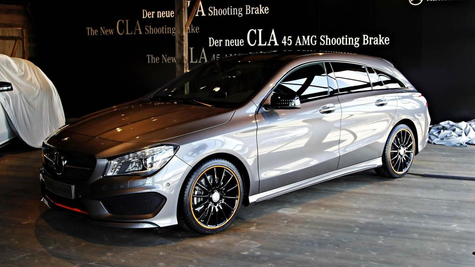 Mercedes Benz Cla Shooting Brake Returns In Live Images