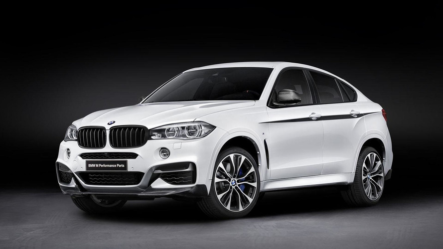 BMW X6 gains styling & performance upgrades from M Performance Parts
