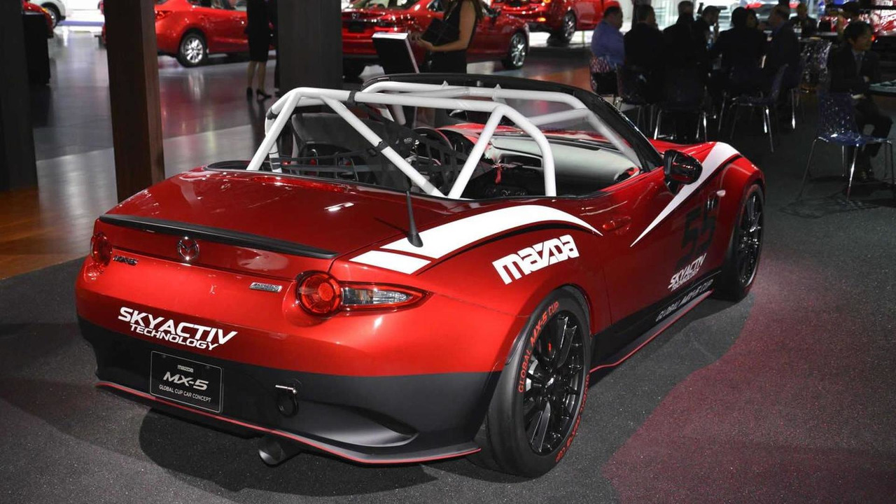 Mazda MX-5 for 2016 Mazda Global MX-5 Cup series at Los Angeles Auto Show