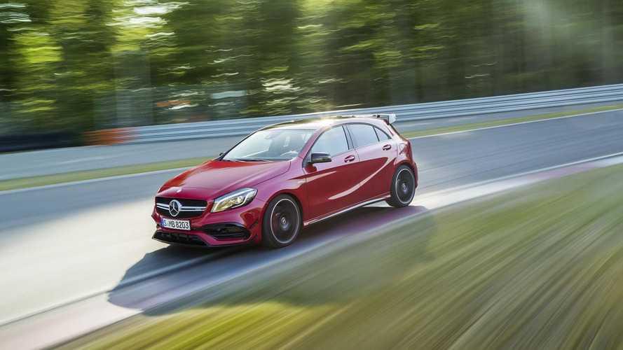 Une Mercedes AMG A 45 plus puissante est prévue