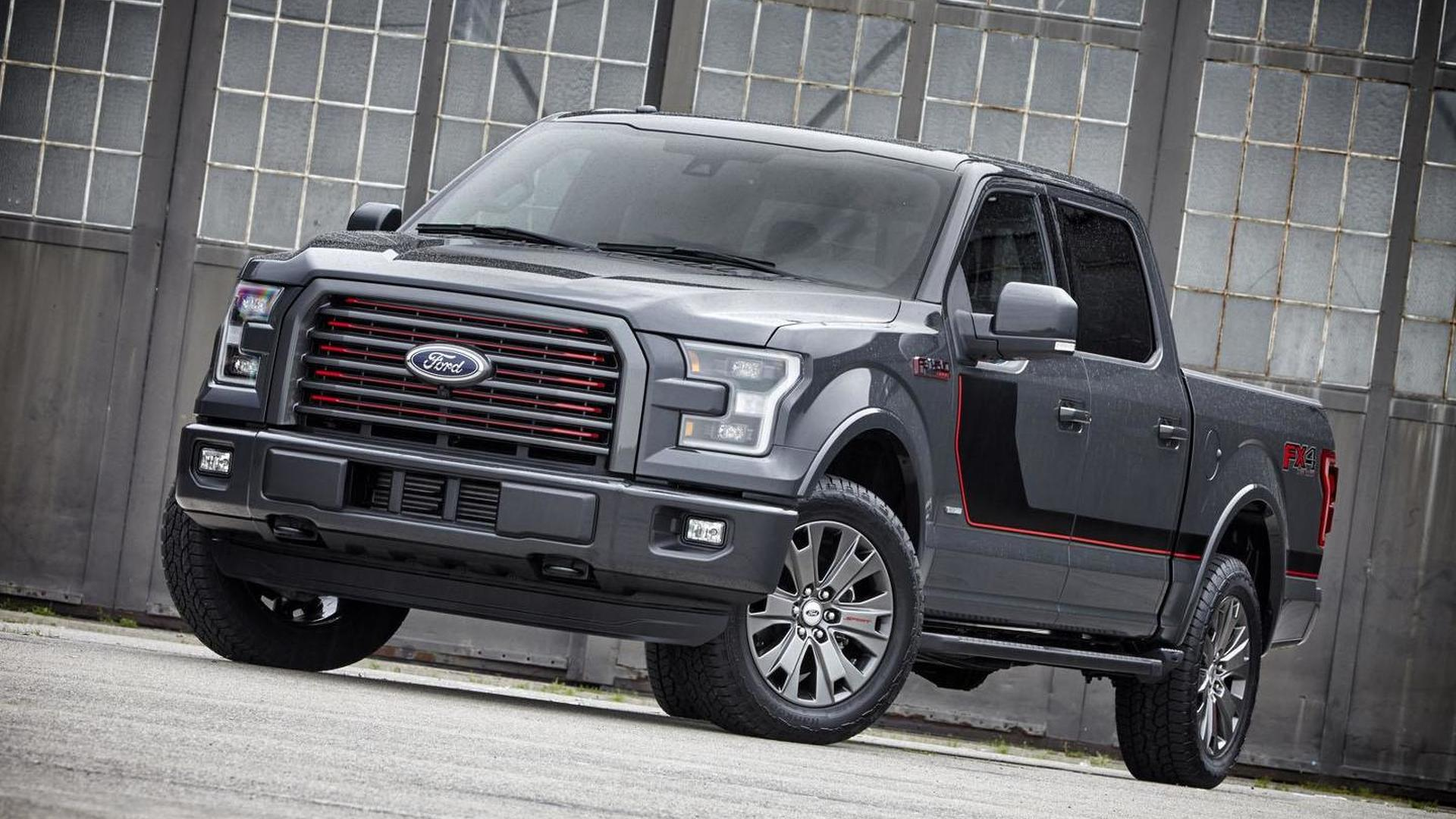Ford F  Unveiled With New Options And A Sync  Infotainment System
