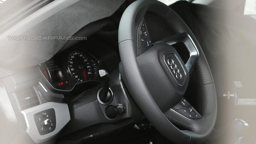 2016 Audi S4 Avant interior partially revealed in latest spy shots