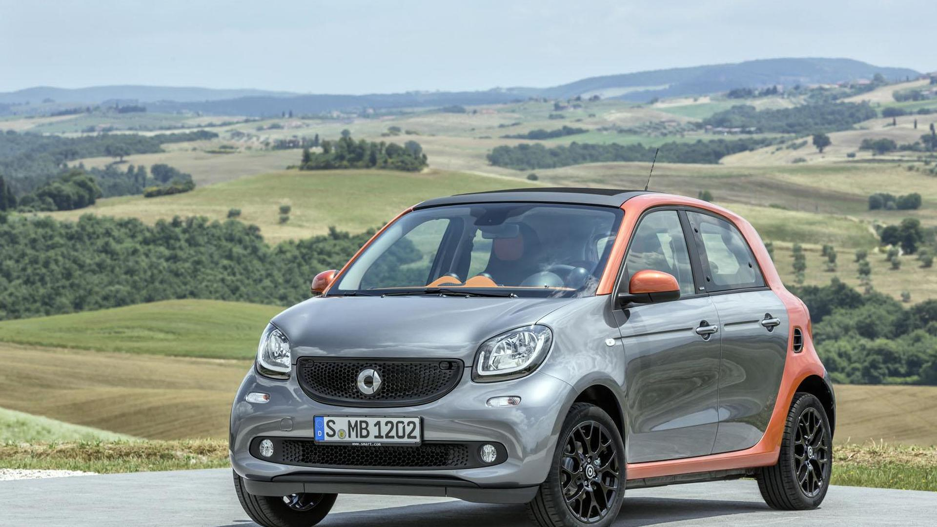 Mercedes Confirms Additional Hybrid Variants Smart Fortwo Forfour Electric Drive For 2016
