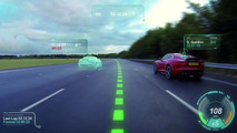 Jaguar Virtual Windscreen