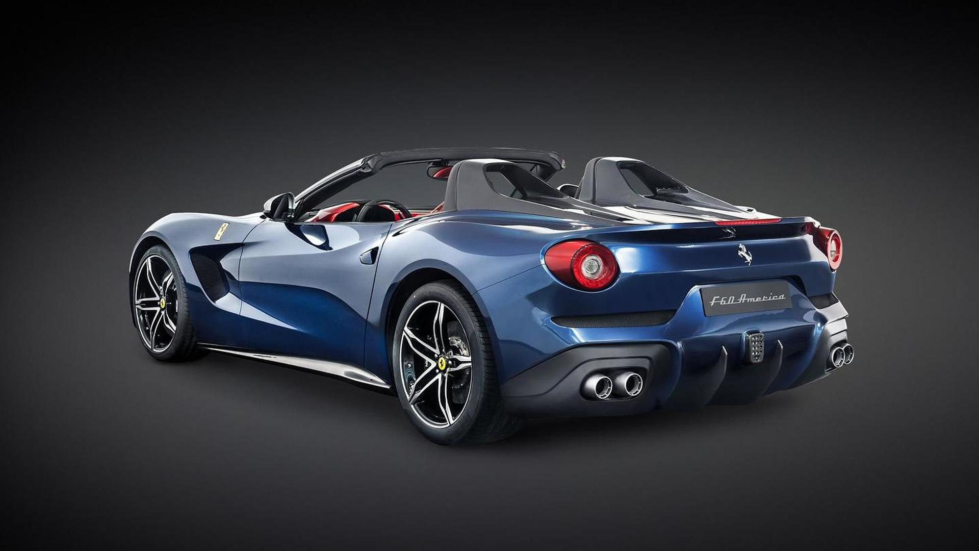 Ferrari F60America officially revealed as a roofless F12 ...