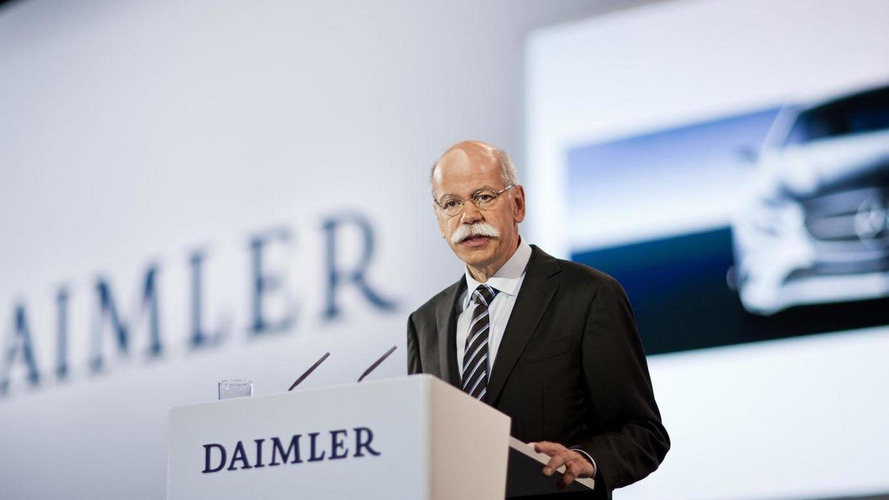 Daimler CEO Dieter Zetsche to step down next year