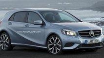 Mercedes-Benz MINI rival speculative render