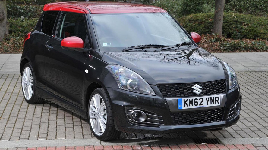 Suzuki Swift Sport SZ-R Edition announced (UK)