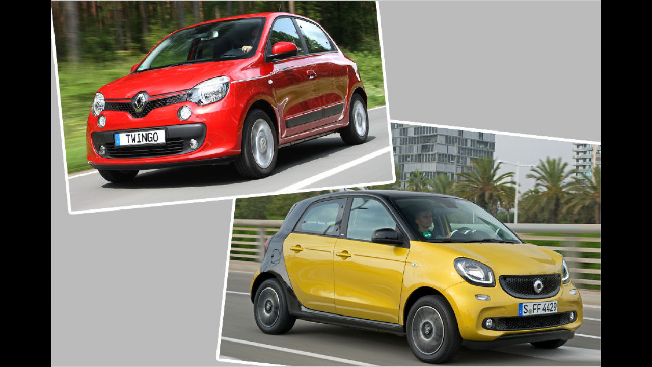 Renault Twingo / Smart Forfour