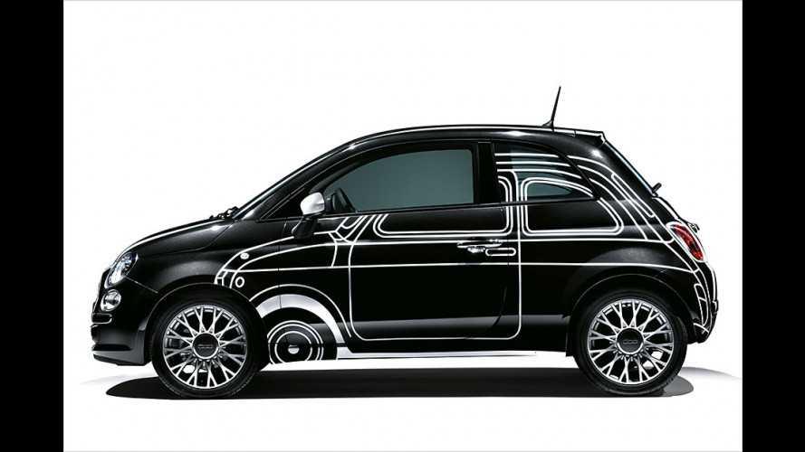 Fiat 500 Ron Arad Edition: Streng limitiertes Sondermodell