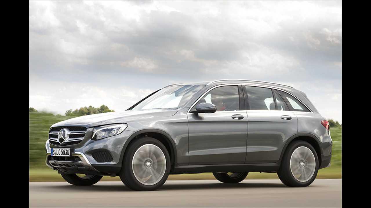 Mittelklasse-SUV: Mercedes GLC
