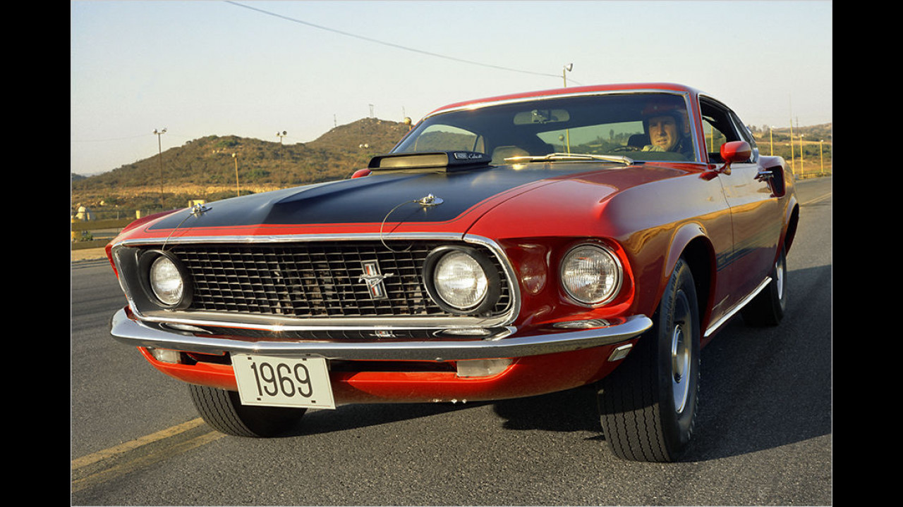 Ford Mustang Mach 1 (1969)