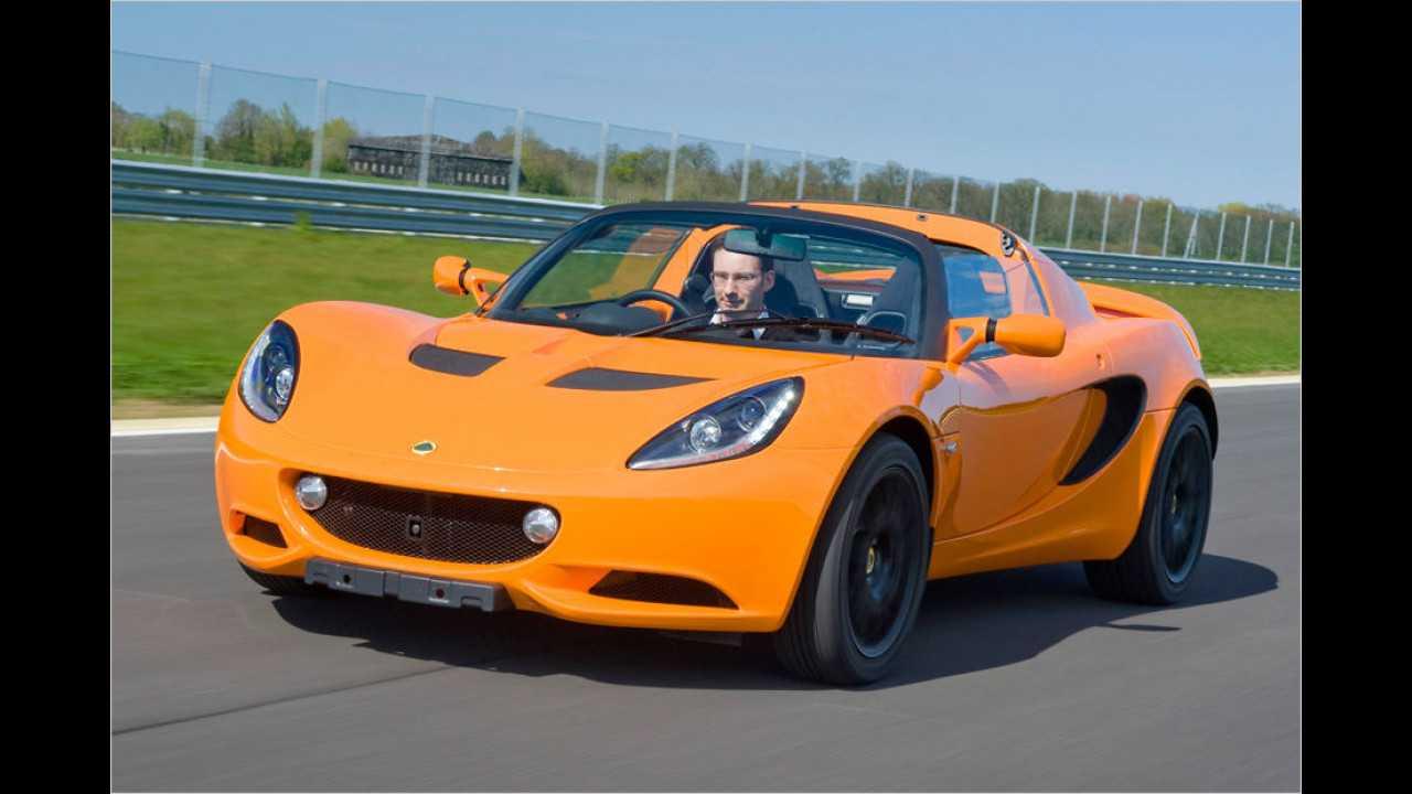 Lotus Elise: 35 Neuzulassungen (Januar bis Juli 2016)