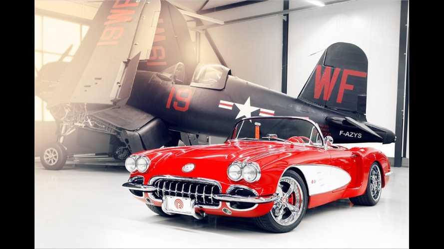Pogea Racing baut Chevrolet Corvette von 1959 zum modernen Flitzer um