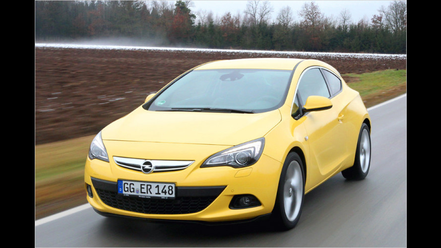 Opel Astra GTC 1.6 Turbo (2012) im Test
