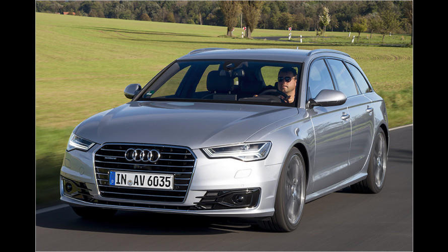 Audi A6: Update für die Business-Class