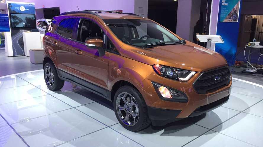 EXCLUSIVO - Ford EcoSport não terá mais câmbio PowerShift