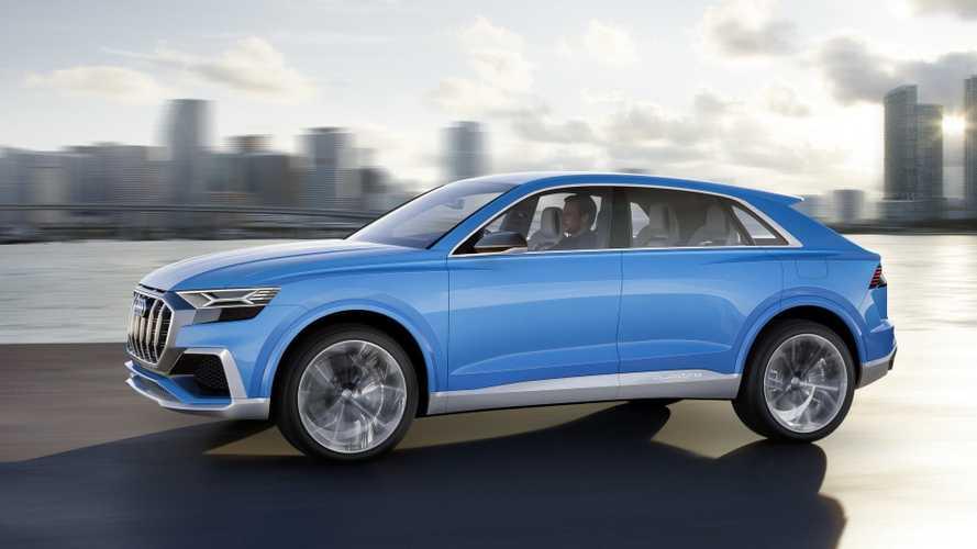 Audi Q8 Concept, completando el trío cupé