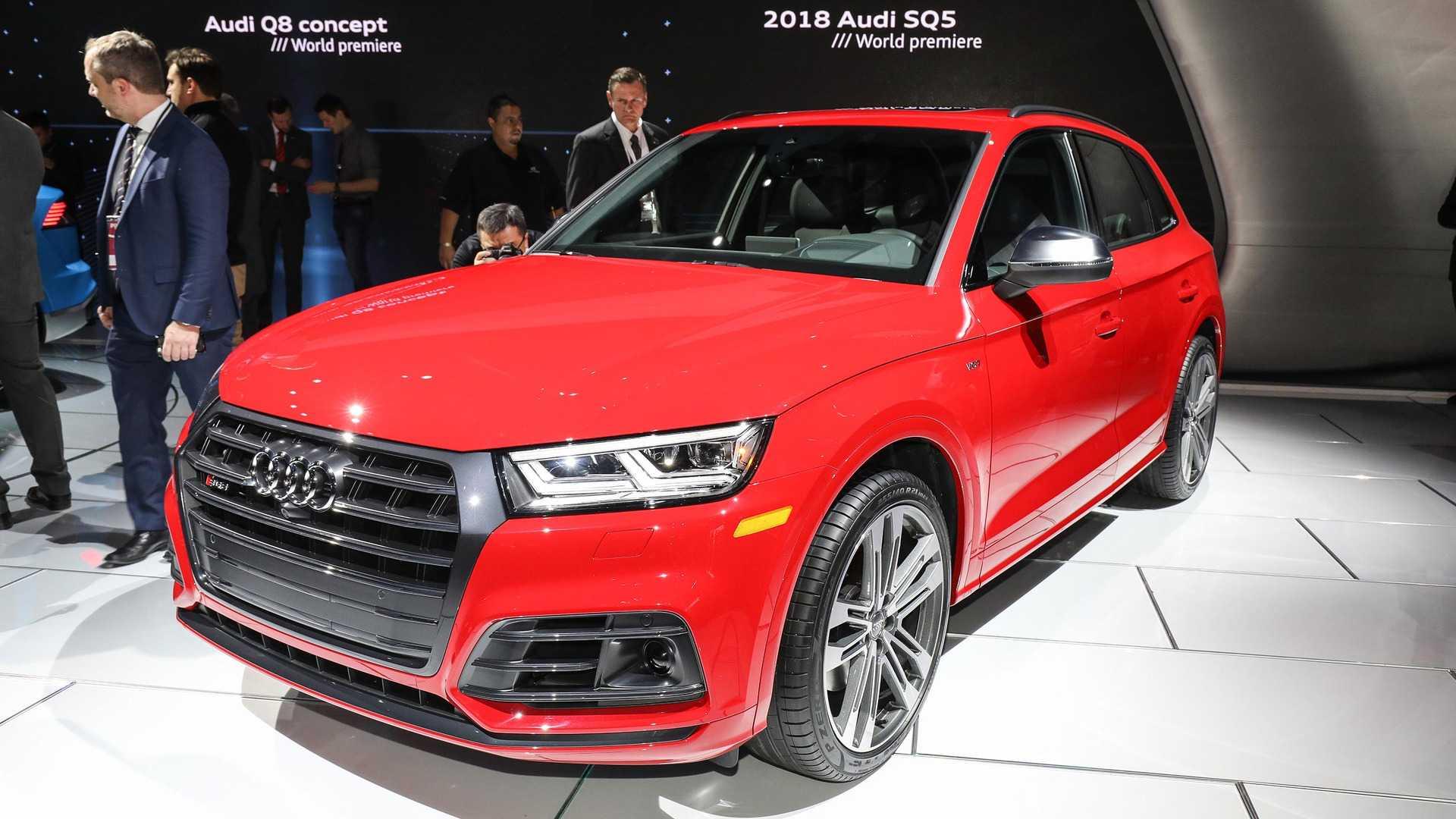 Audi SQ Swaps Supercharger For A Turbo In Detroit - Audi detroit