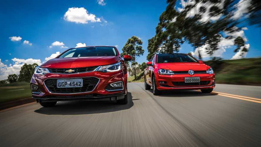Comparativo Novo GM Cruze Sport6 x VW Golf 1.4 TSI - Enfim um rival à altura?