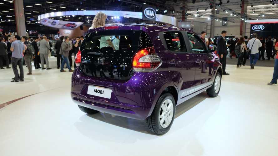 Salão do SP: Fiat Mobi Drive recebe motor Firefly 1.0 de 3-cilindros e câmbio Dualogic