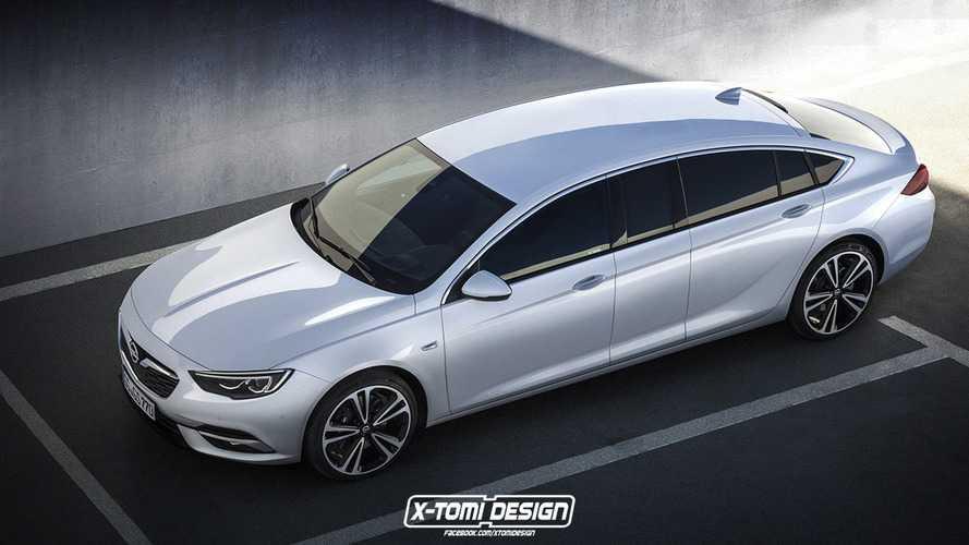 Opel Insignia'nın limuzin versiyonu hiç fena değil