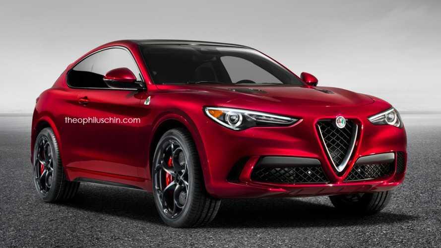 Projeção - Como seria o Alfa Romeo Stelvio em versão cupê