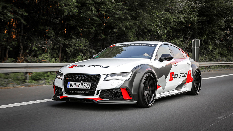 690-hp Audi S7 widebody puts the RS7 to shame