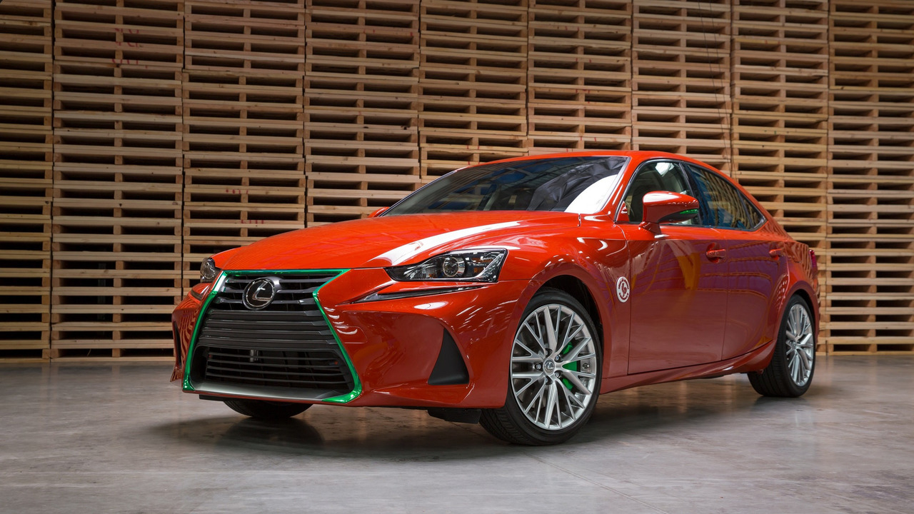 Lexus IS Sriracha