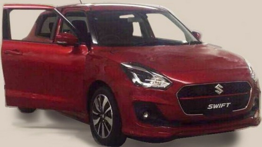 Suzuki Swift 2017 dessin 3D